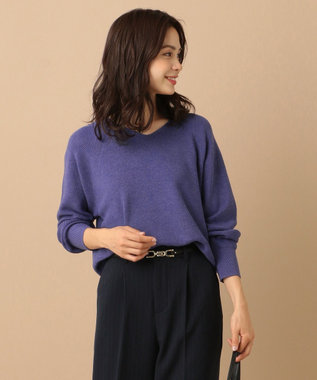 any FAM 【選べる12色】New Yearニット プルオーバー パープル系