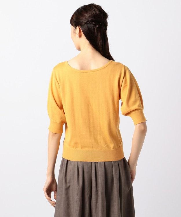 any FAM 【UVケア】パフスリーブニット Tシャツ