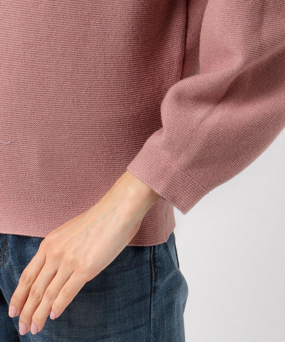 any FAM 【2WAY】ウールブレンドバルキー ボリューム袖 ニット ピンク系