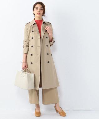 J.PRESS LADIES S 【洗える】コットンシルク リブニット ピンク系