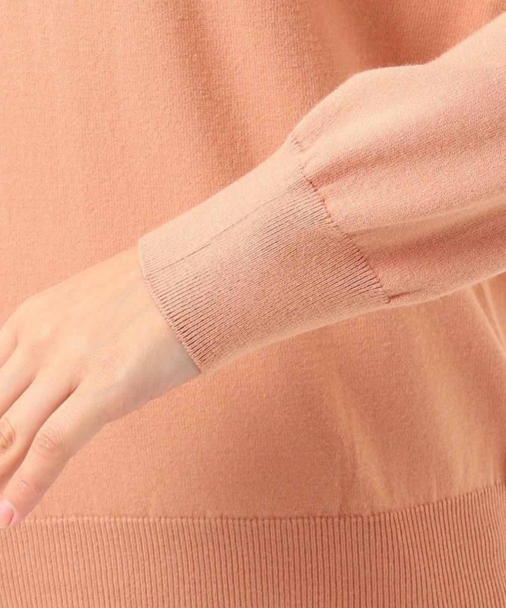 J.PRESS LADIES 【新色追加】ウールを含まないPRINCE タートルネック ニット ピンク系