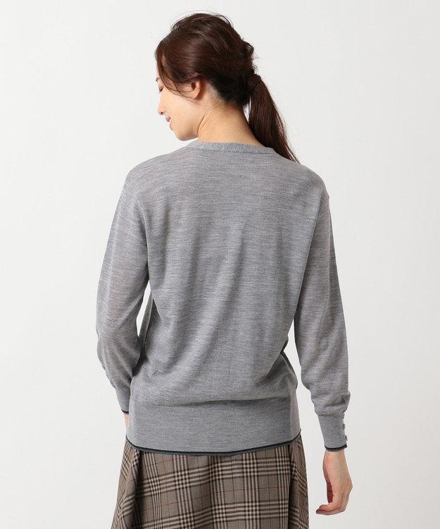 J.PRESS LADIES S 【洗える】抗ピル加工ニット カーディガン