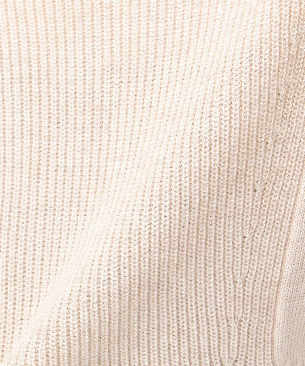 J.PRESS LADIES L 【WEB限定】片畦コクーンショート カーディガン アイボリー系