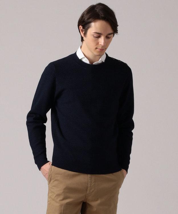 GOTAIRIKU 【肩釦付き】コットンヴィンテージマリン ニット