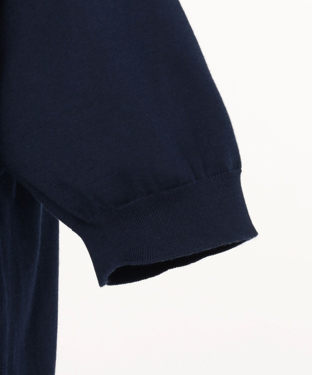 gotairiku 【FIRMAR ZERO】 ハイゲージニット ポロシャツ ネイビー系