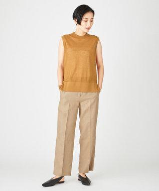 JOSEPH 【JOSEPH STUDIO・洗える】スリーブレスニット キャメル系