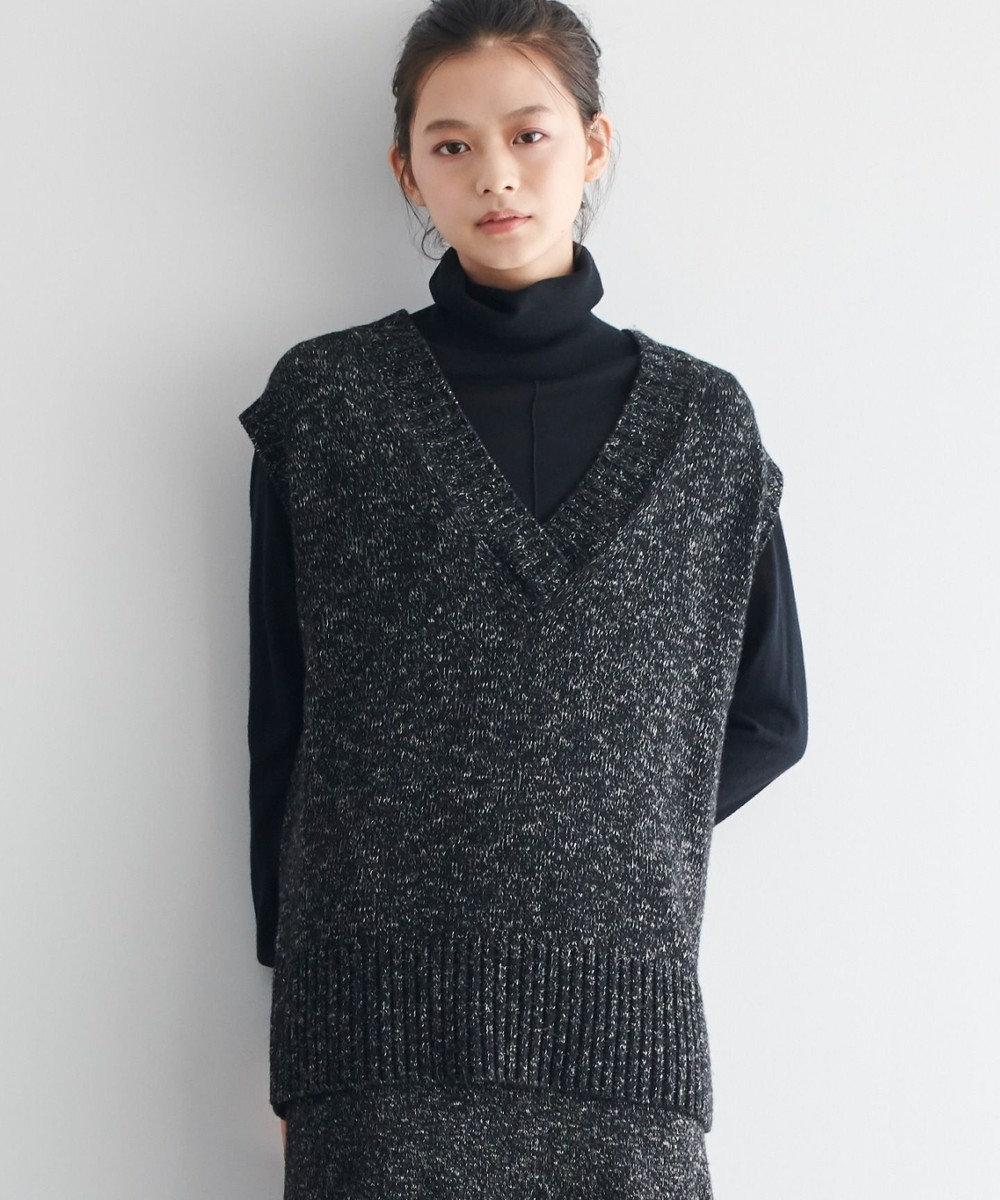 JOSEPH 【JOSEPH STUDIO】 トム ニットベスト ブラック系