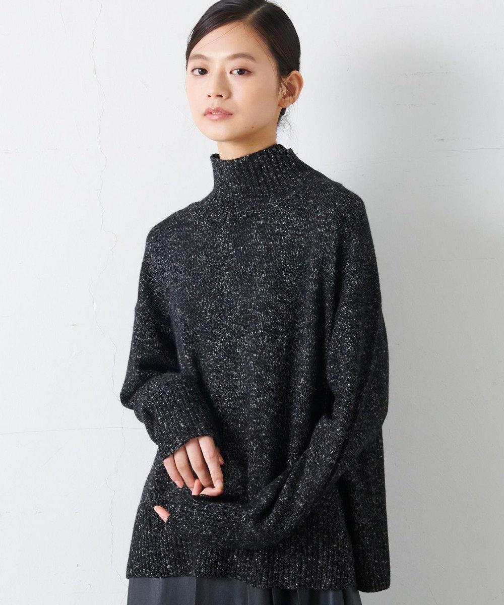 JOSEPH 【JOSEPH STUDIO・百々千晴さん推薦】トム ハイネックニット  セーター ブラック系