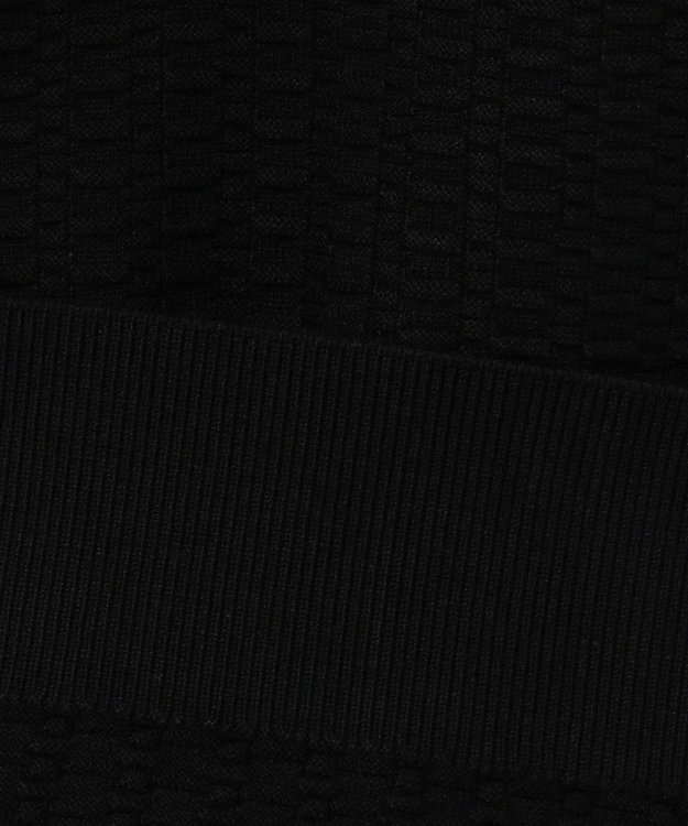 JOSEPH HOMME 【定番】ヴィスコースリンクスジャガード ジップアップ ブラック系