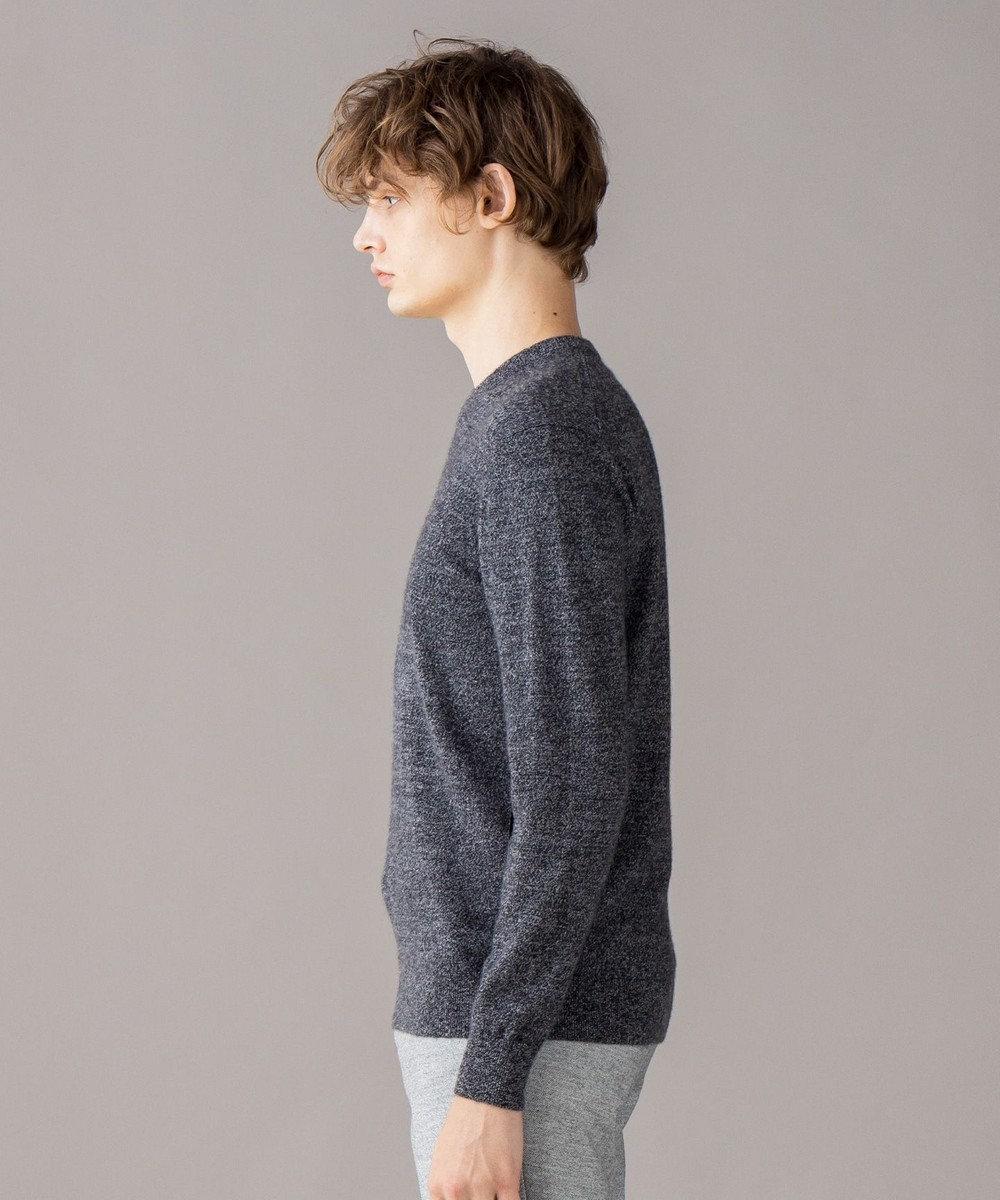 JOSEPH HOMME 【定番】ピュアカシミヤ ニット/Vネック ライトグレー系
