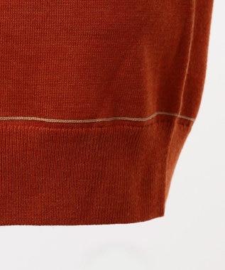 JOSEPH HOMME ウールカラーリンキング ニット / セーター オレンジ系