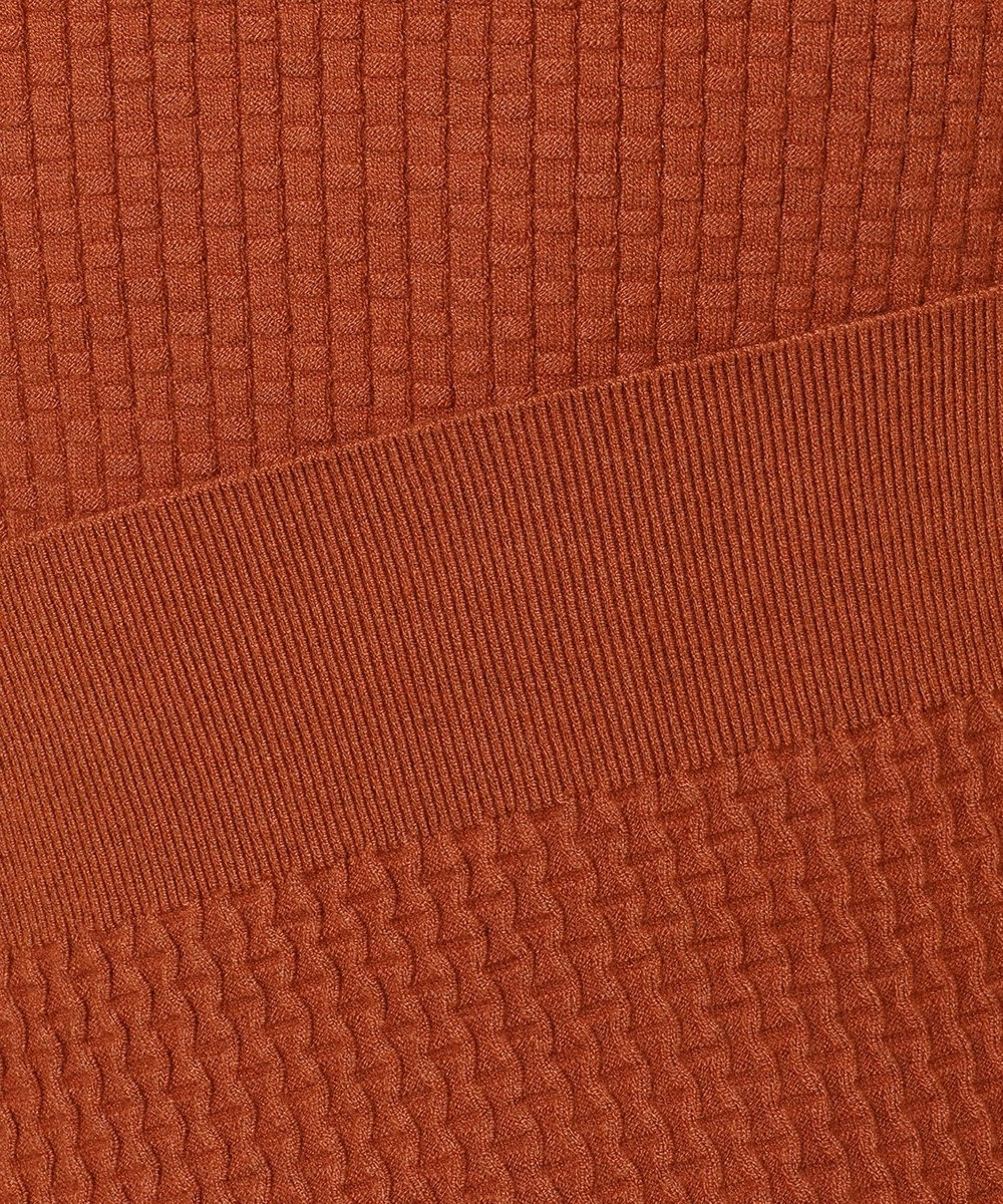 JOSEPH ABBOUD 【なめらか触感が気持ち良い!】SNOWY ニット オレンジ系