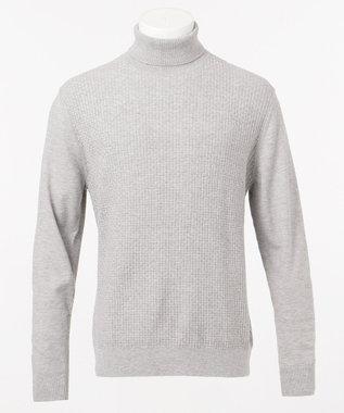 JOSEPH ABBOUD 【なめらか触感が気持ち良い!】SNOWY ニット ライトグレー系
