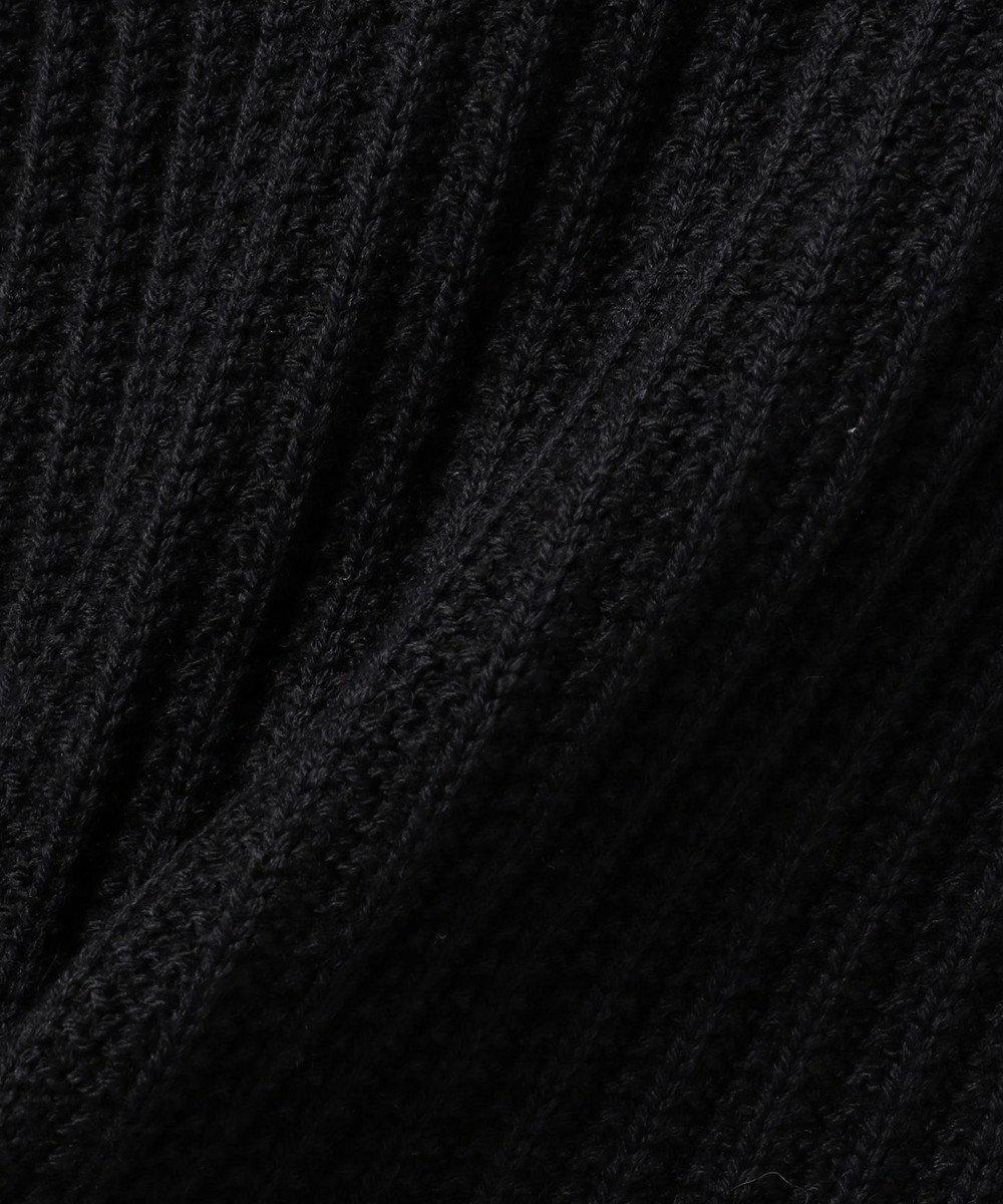 JOSEPH ABBOUD 【ギフトおすすめ】バルキーウールリンクスリブ フルジップニット ネイビー系