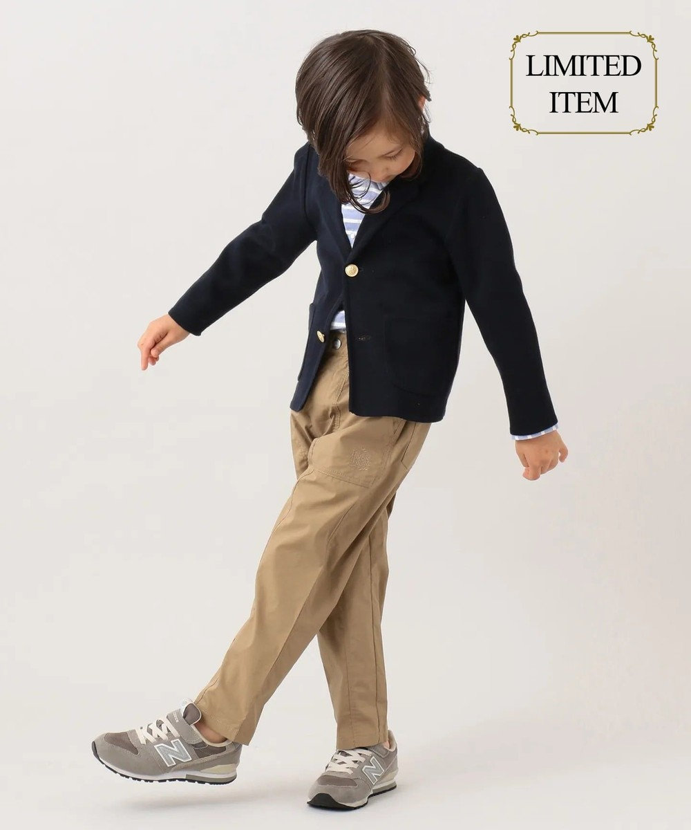 J.PRESS KIDS 【一部店舗限定/110-130cm】ニット ジャケット ネイビー系