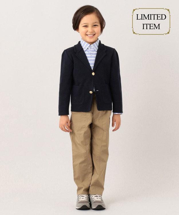 J.PRESS KIDS 【一部店舗限定/110-130cm】ニット ジャケット