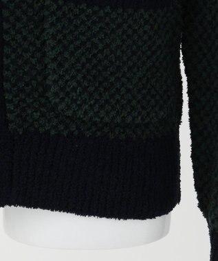 J.PRESS KIDS 【140-170cm】シャギードッグフリースポップコーンショール カーディガン ダークグリーン系
