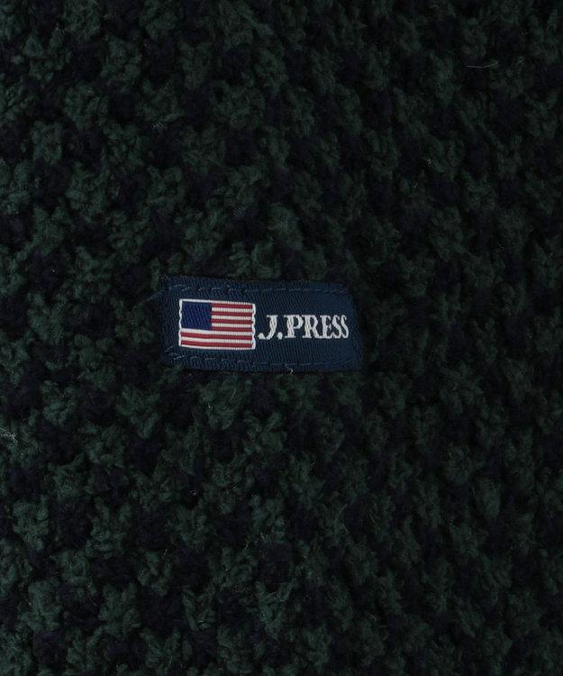 J.PRESS KIDS 【140-170cm】シャギードッグフリースポップコーンショール カーディガン