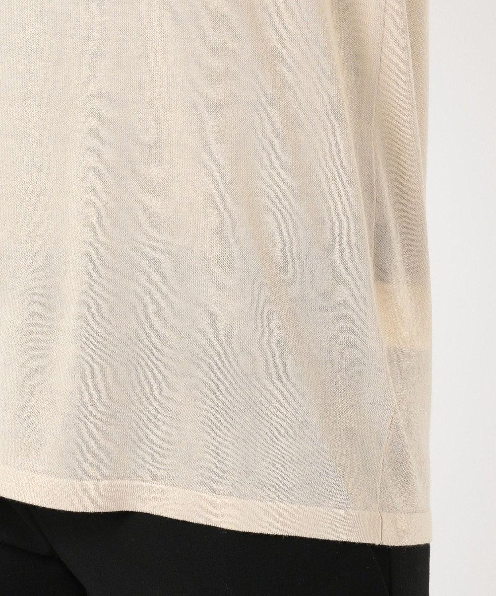 JOSEPH 【洗える】シルクコットンライト 半袖 Tシャツ ニット ベージュ系