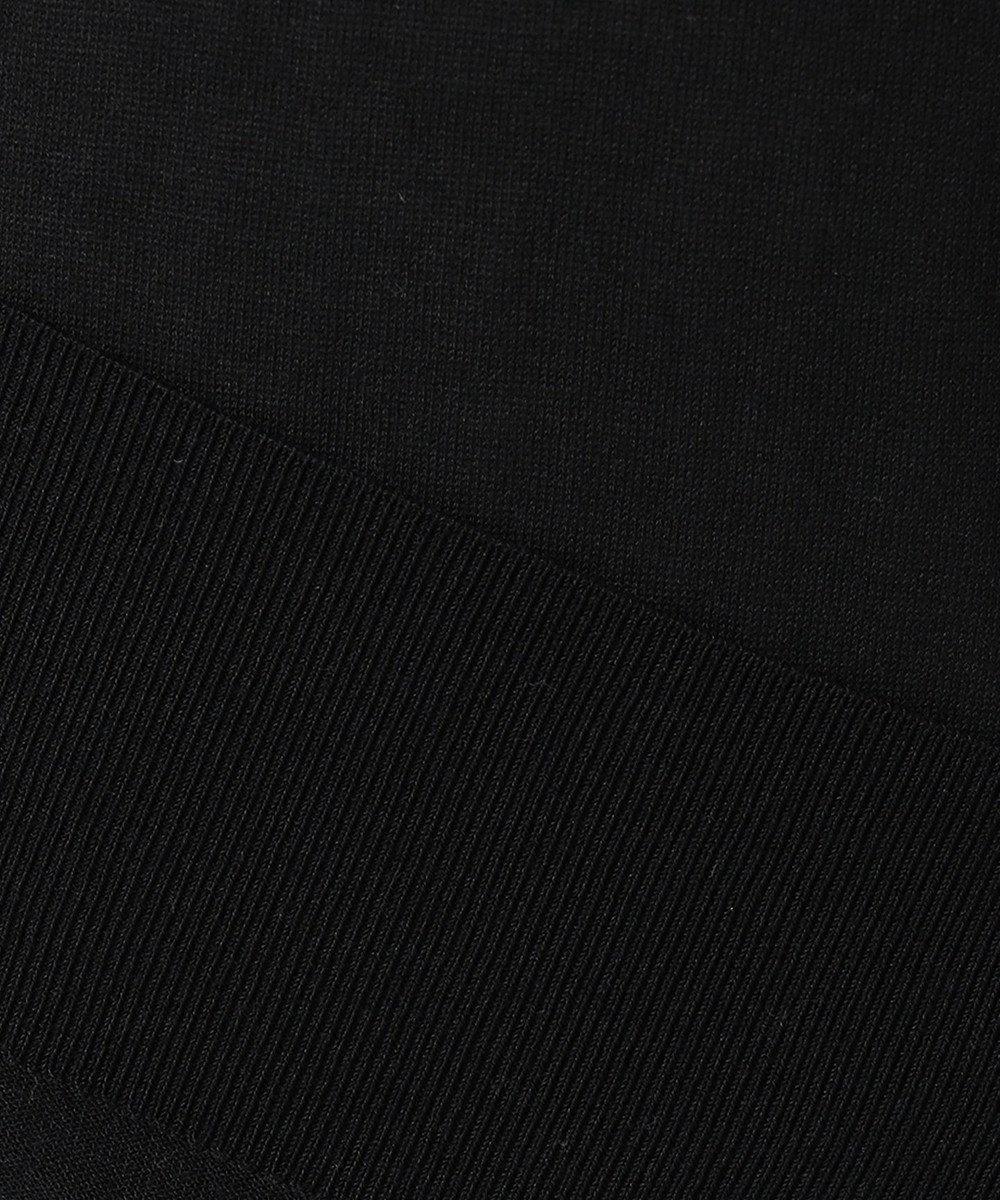 JOSEPH 【洗える】シルクコットンライト 長袖  ニット ブラック系
