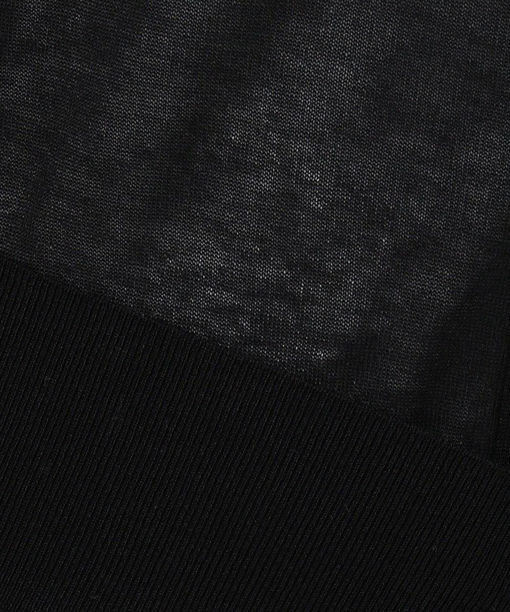 JOSEPH 【洗える】シルクコットンライト カーディガン ブラック系