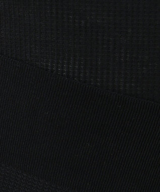 JOSEPH 【洗える】フローラコットン / ノースリーブ ニット ブラック系