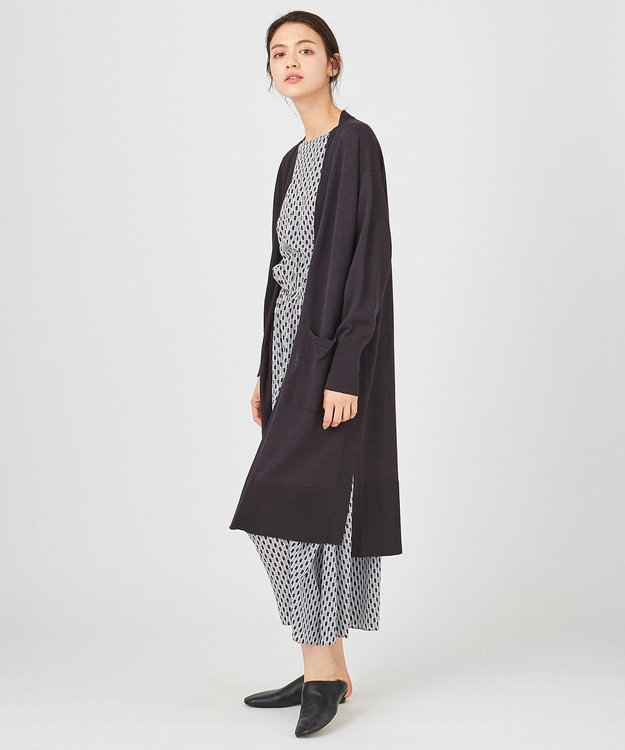 JOSEPH 【柚香 光さん着用】リネンシルク / ロング カーディガン