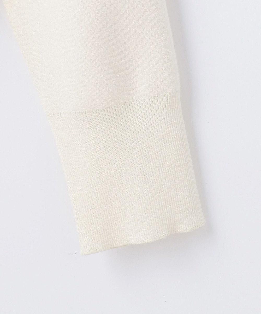 JOSEPH 【洗える】スポンジッシュスムース ハイネック ロングスリーブ ニット アイボリー系