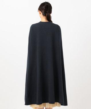 JOSEPH 【WEB&限定店のみ】ソフトウール ケープ ネイビー系