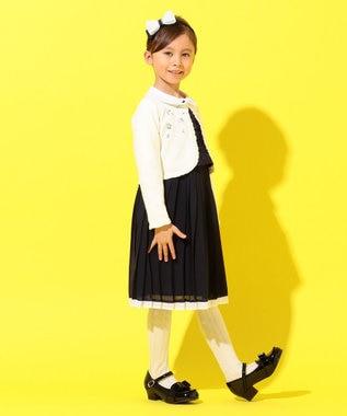 組曲 KIDS 【ひなちゃん着用/110-140cm】プチフラワー刺繍 カーディガン アイボリー系7