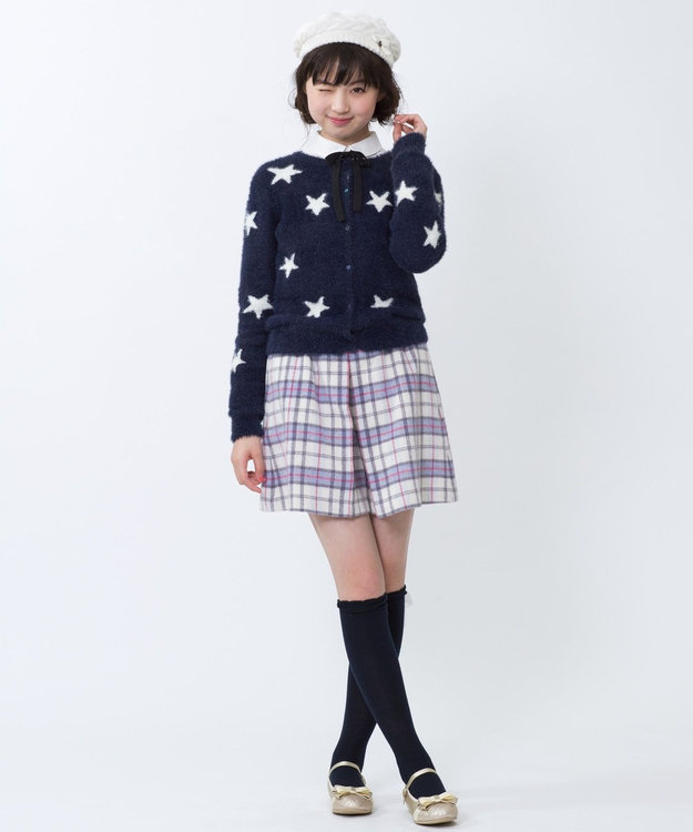 組曲 KIDS 【SCHOOL】Twinkleシャギーカーディガン