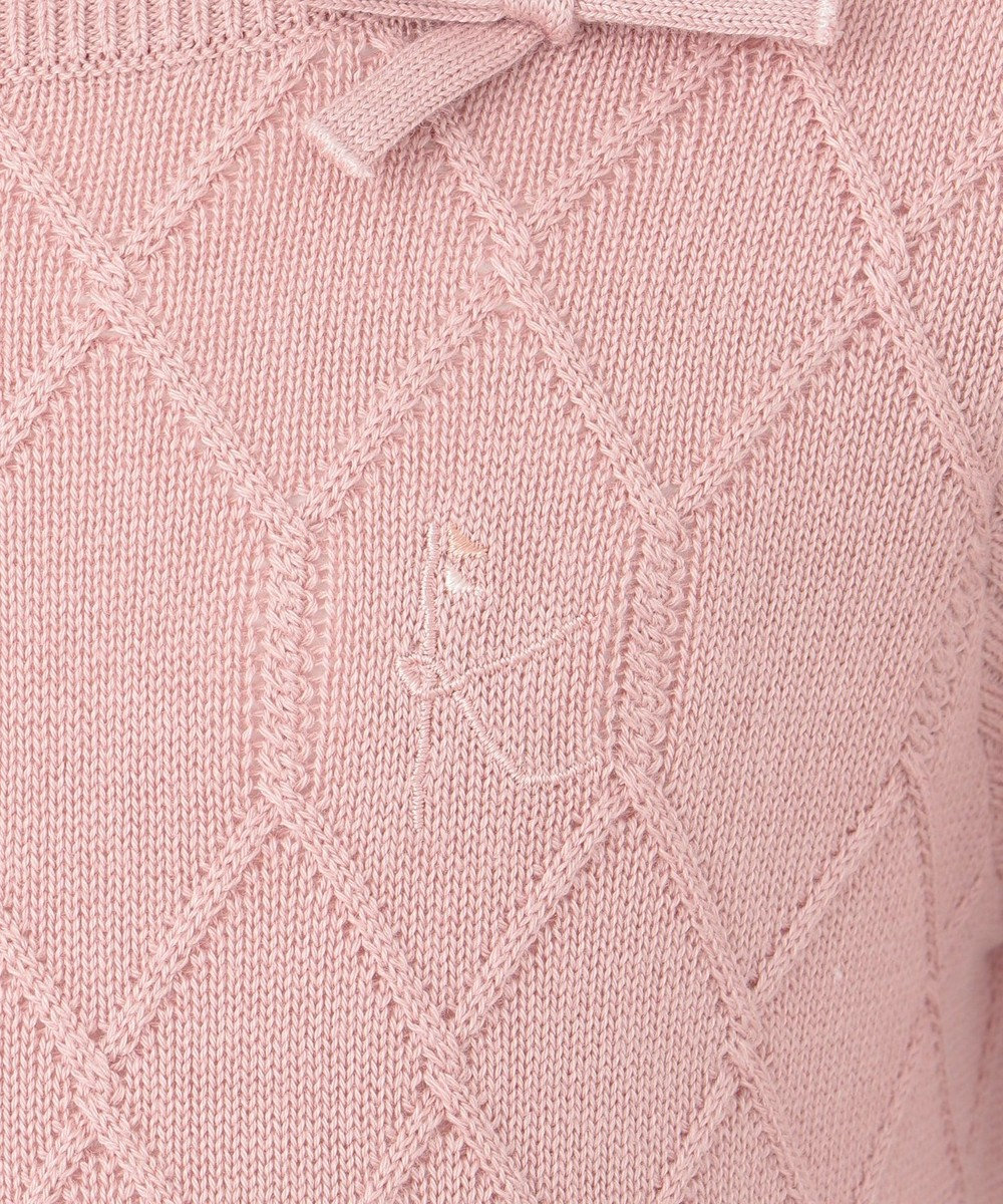 組曲 KIDS 【WEB・一部店舗限定/110-140cm】モダールリブ ニット ピンク系