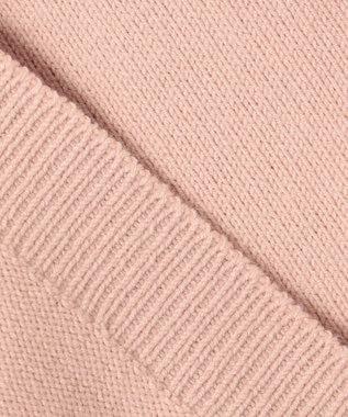 #Newans 【洗える】ウォームコットンカーディガン ピンク系