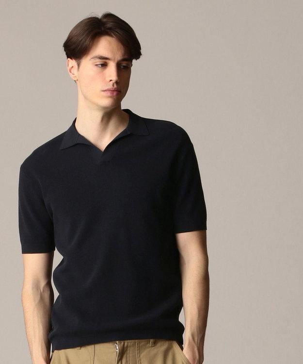 J.PRESS MEN ハイゲージスキッパー ニットポロシャツ