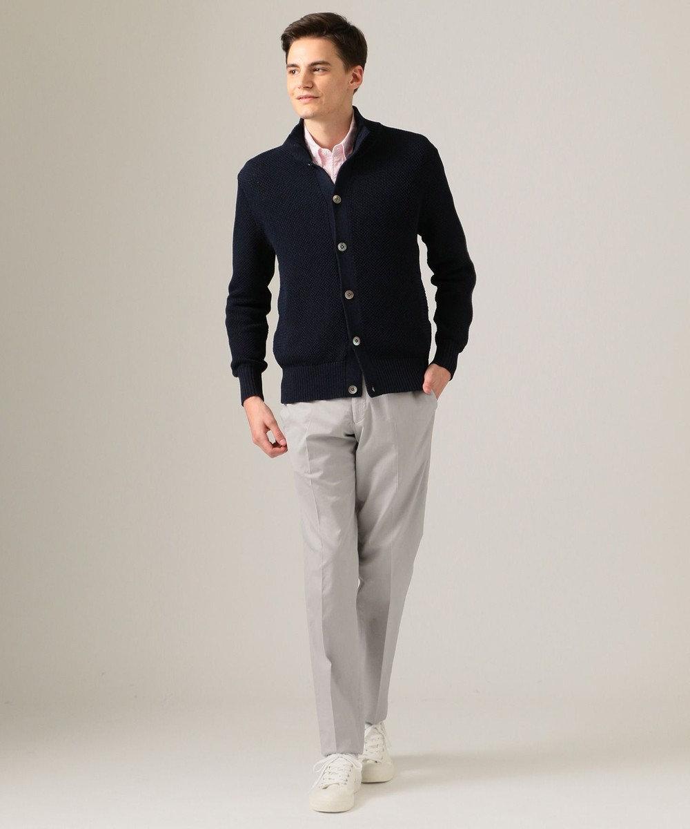 J.PRESS MEN スタンドカラー カーディガン/ニット ネイビー系7