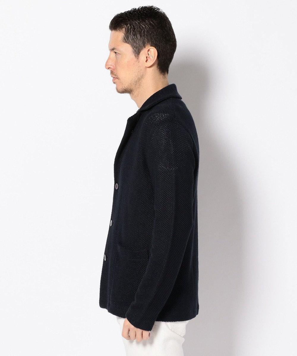 J.PRESS MEN 【LEUVEN】ニット ジャケット(検索番号W167) ネイビー系