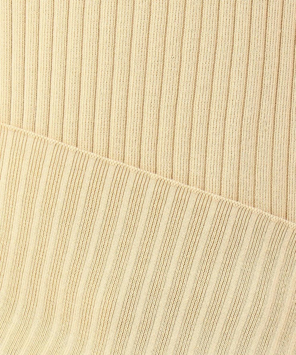 23区 【SLOW】COTTON PLAIN STITCT タンクトップ ベージュ系