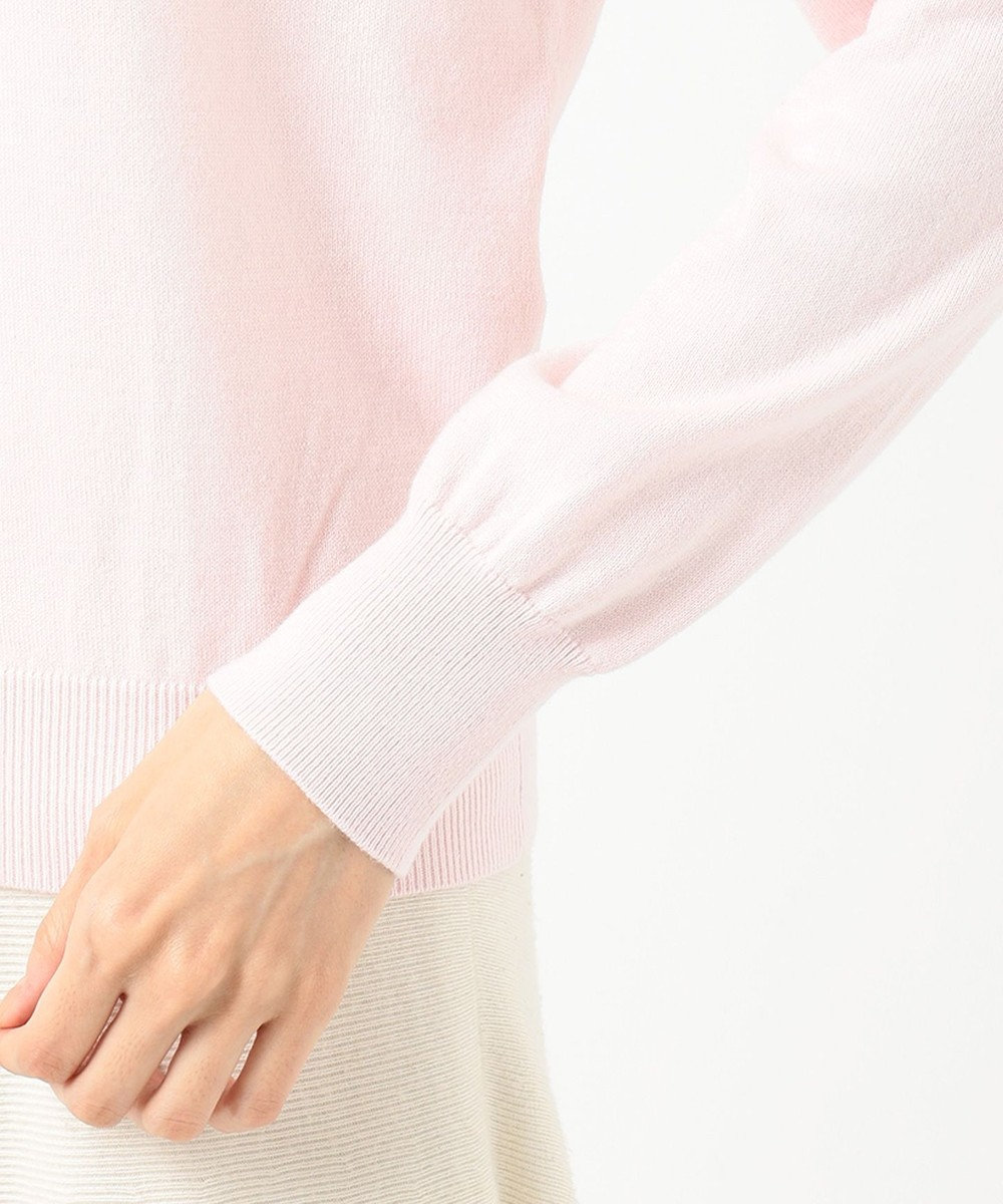 TOCCA 【洗える!】ERISILK BLANC PEARL TURTLE タートルニット ピンク系