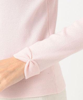 TOCCA 【WEB限定カラー有】WHIP タートルニット ピンク系
