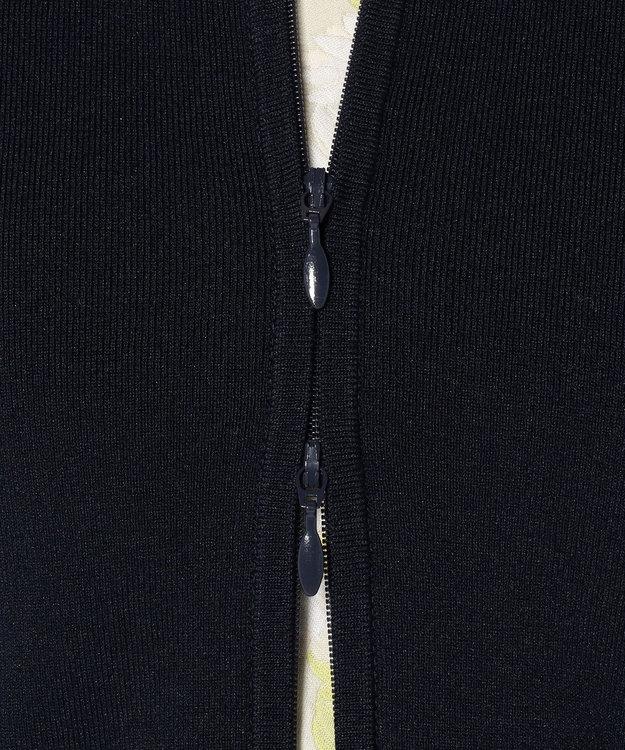TOCCA 【洗える!】RIBBON HOODIE ニットパーカー