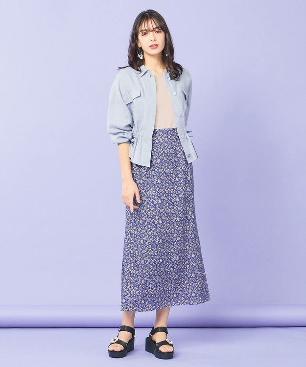 TOCCA 【TOCCA LAVENDER】Flare Sleeve Pullover ニット
