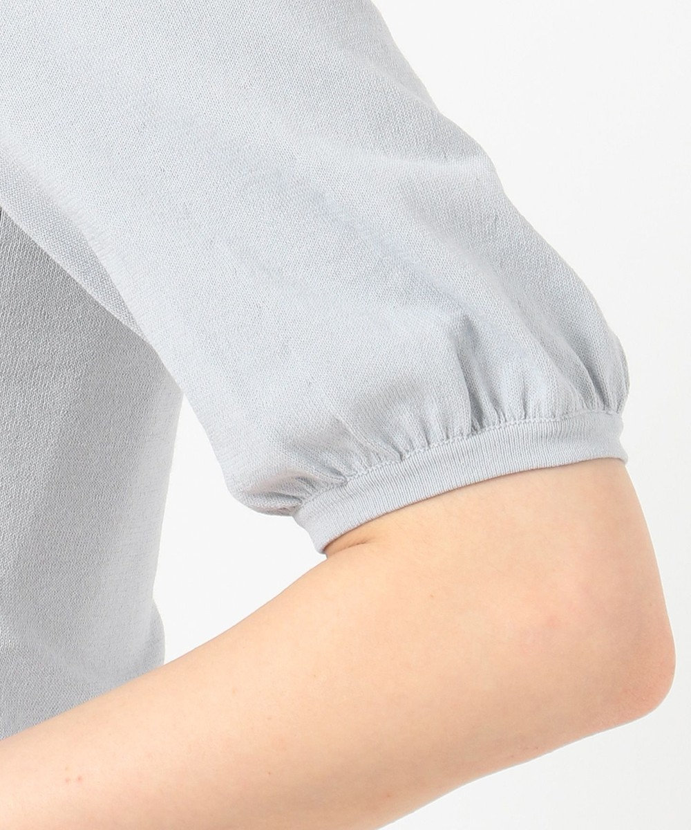 TOCCA 【TOCCA LAVENDER】Shortーsleeved カーディガン ライトグレー系