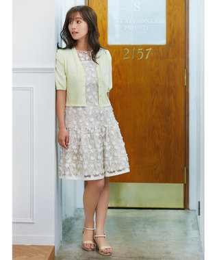 TOCCA 【TOCCA LAVENDER】Shortーsleeved カーディガン イエロー系