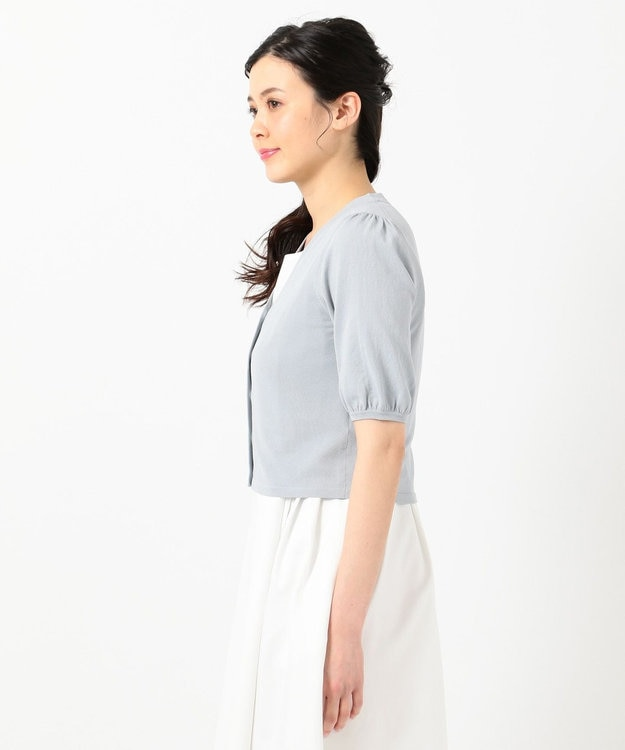 TOCCA 【TOCCA LAVENDER】Shortーsleeved カーディガン
