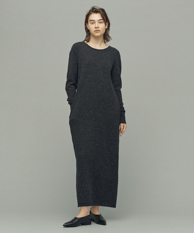 uncrave 【Marisol12月号掲載】ネップバック デザイン ワンピース