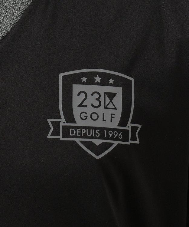 23区GOLF 【MEN】【WEB限定カラー有】エアシャット リバーシブルニット
