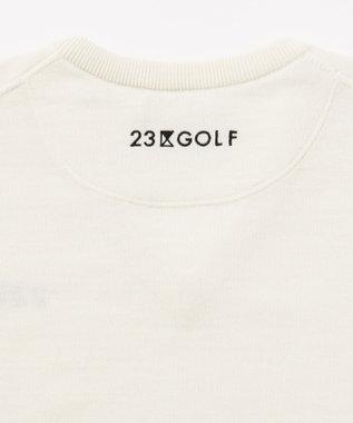 23区GOLF 【キングサイズ】定番ニット アイボリー系