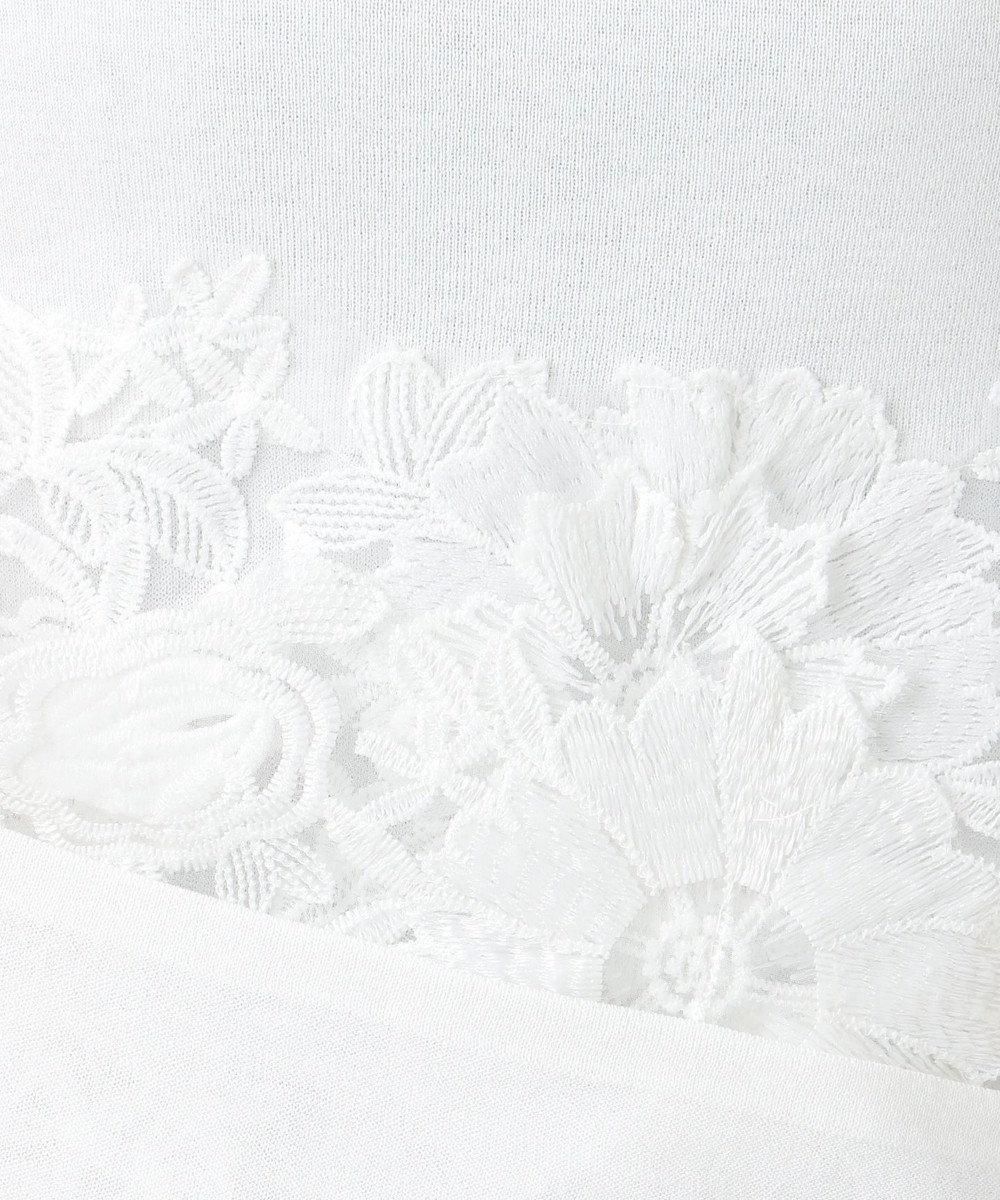 自由区 【Class Lounge】ICE COTTON フラワーモチーフプルオーバー(検索番号X29) ホワイト系