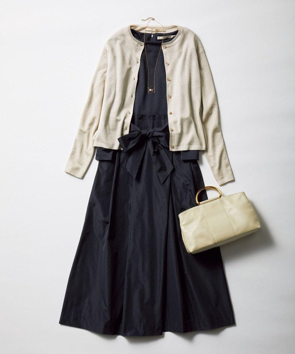 自由区 【マガジン掲載】シャイニールレックス カーディガン(検索番号A32) ベージュ系