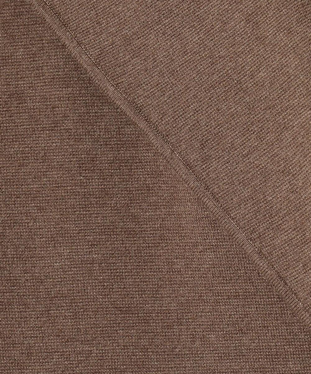自由区 【マガジン掲載】ウールストレッチ ニットジャケット(検索番号N56) ダークブラウン系